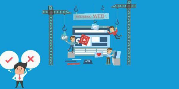 5 señales que indican el momento de rediseñar tu página web