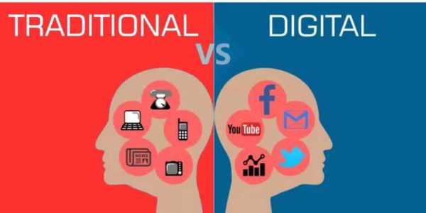 Principales diferencias entre el marketing digital y el marketing tradicional